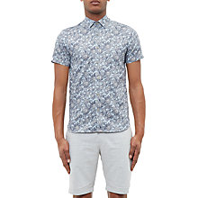 Buy Ted Baker Terrier Short Sleeve Printed Shirt Online at johnlewis.com