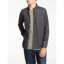 Buy Denham Standard CYD Shirt, Black Online at johnlewis.com