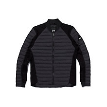 Buy Denham Lynx Quilted Jacket, Shadow Black Online at johnlewis.com