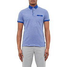 Buy Ted Baker Collin Polo Shirt, Dark Blue Online at johnlewis.com