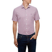 Buy Hackett London Checked Short Sleeve Shirt Online at johnlewis.com