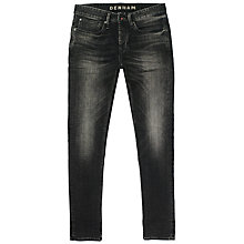 Buy Denham Forge Denim Slim Jeans, Washed Black Online at johnlewis.com