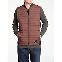Buy Denham Lynx Bodywarmer, Burnt Red Online at johnlewis.com