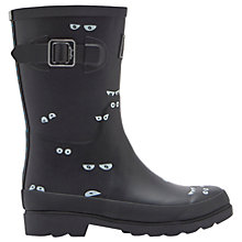 Buy Little Joule Children's Dark Eyes Wellington Boots, Grey Online at johnlewis.com