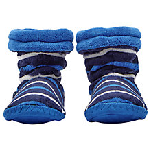 Buy Joules Children's Padabout Stripe Slippers Online at johnlewis.com