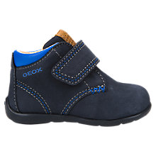 Buy Geox Children's Kaytan Shoes, Navy Online at johnlewis.com