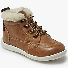 Buy John Lewis Children George Boots, Tan Online at johnlewis.com