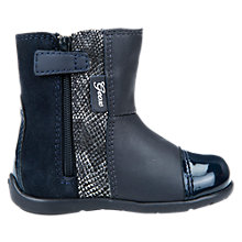 Buy Geox Children's Kaytan Boots, Navy Online at johnlewis.com