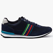 Buy PS by Paul Smith Svenson Trainers, Dark Navy Online at johnlewis.com