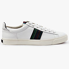 Buy PS by Paul Smith Seppo Trainers, White Online at johnlewis.com