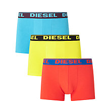 Buy Diesel Shawn Boxer Trunks, Pack of 3, Multi Online at johnlewis.com