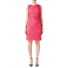 Buy Precis Petite Lace Bodice Dress, Bright Pink Online at johnlewis.com