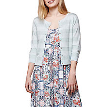 Buy Yumi Stripe Cardigan, Mint Online at johnlewis.com