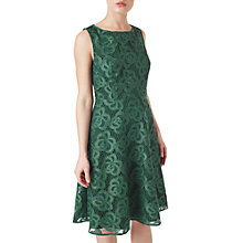 Buy Precis Petite Keeley Lace Dress, Green Online at johnlewis.com