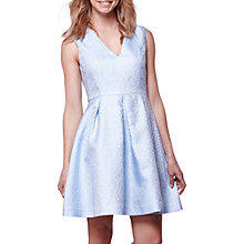 Buy Yumi Jacquard Occasion Dress, Blue Online at johnlewis.com