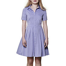 Buy Yumi Short Sleeve Shirt Dress, Blue Online at johnlewis.com