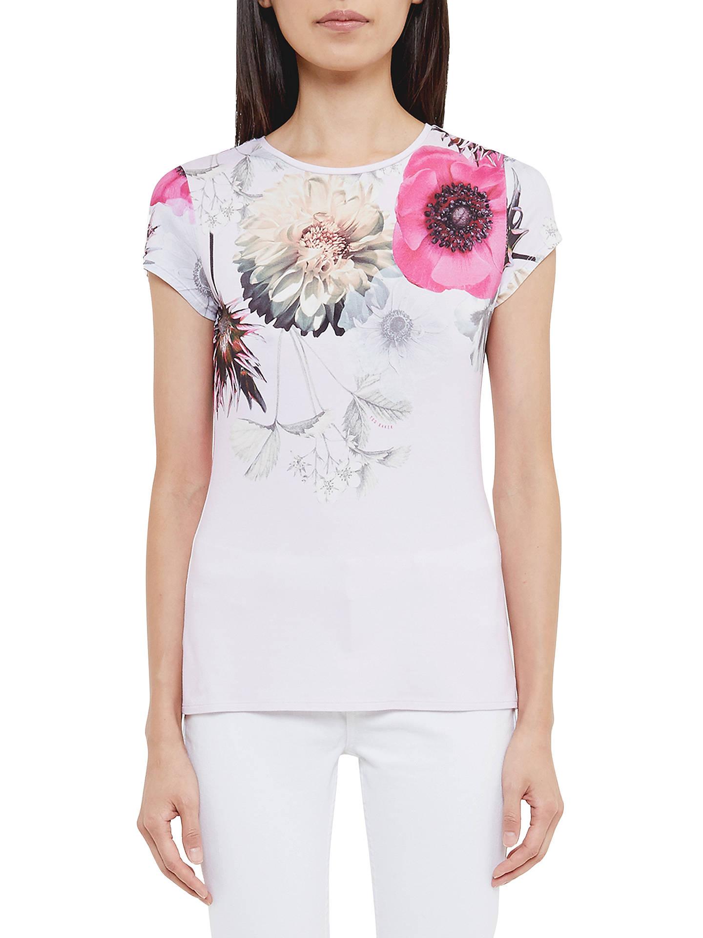 ac7ceb706 Buy Ted Baker Gulesa Neon Poppy Fitted T-Shirt