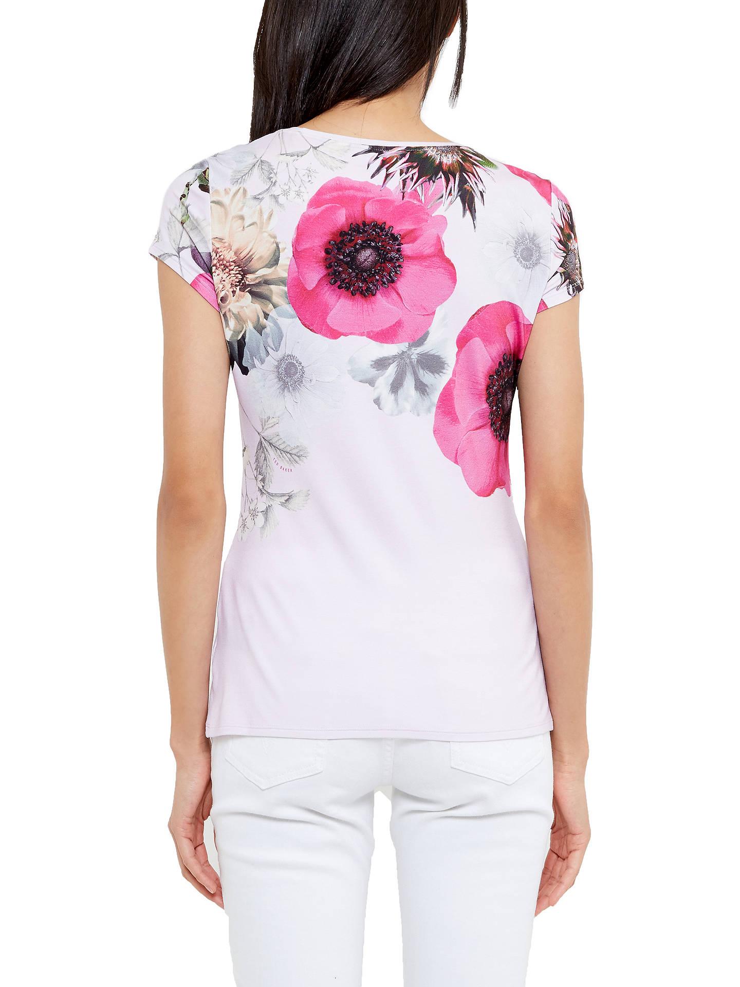 4c57e26ef ... Buy Ted Baker Gulesa Neon Poppy Fitted T-Shirt
