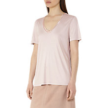 Buy Reiss Kim Bead Detail T-Shirt Online at johnlewis.com