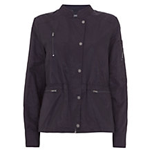 Buy Mint Velvet Casual Zip Detail Jacket Online at johnlewis.com
