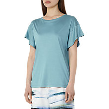 Buy Reiss Mercer Batwing T-Shirt, Blue Topaz Online at johnlewis.com