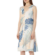 Buy Reiss Sirus Printed Dress, Multi Online at johnlewis.com