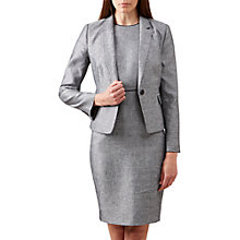 Buy Hobbs Juliet Jacket, Navy/Ivory Online at johnlewis.com