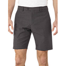 Buy Reiss State Jacquard Weave Shorts, Navy Online at johnlewis.com