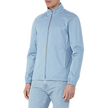 Buy Reiss Froome Funnel Collar Jacket, Airforce Blue Online at johnlewis.com
