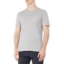 Buy Reiss Bernie Cotton Linen T-Shirt Online at johnlewis.com