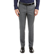 Buy HUGO by Hugo Boss C-Huge1 Hopsack Slim Fit Suit Trousers, Medium Grey Online at johnlewis.com