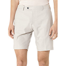 Buy Reiss Whinfell Stripe Tailored Shorts, Off White Online at johnlewis.com