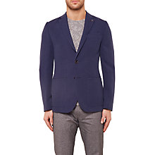 Buy Ted Baker Melvis Textured Blazer Jacket, Navy Online at johnlewis.com