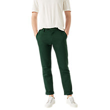 Buy Jigsaw Garment Dye Italian Cotton Linen Trousers Online at johnlewis.com