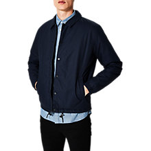 Buy Selected Homme Coach Padded Jacket, Dark Sapphire Online at johnlewis.com