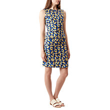 Buy Hobbs Amalfi Lemons Print Dress, Navy/Multi Online at johnlewis.com