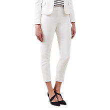 Buy Hobbs May Trousers, Ivory Online at johnlewis.com