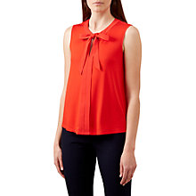 Buy Hobbs Maisie Top, Flame Orange Online at johnlewis.com