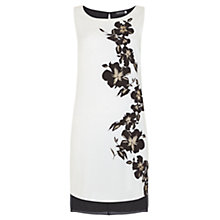 Buy Mint Velvet Yolanda Print Tunic, Black/White Online at johnlewis.com