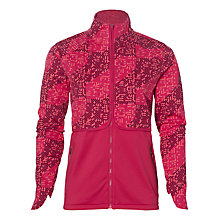 Buy Asics Lite-Show Winter Running Jacket, Pink Online at johnlewis.com