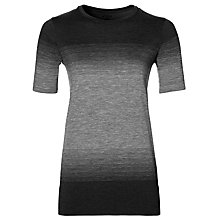 Buy Asics Fuzex Seamless Short Sleeve Running T-Shirt, Black Online at johnlewis.com