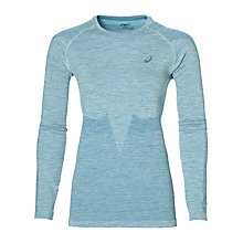 Buy Asics Seamless Long Sleeve Running Top Online at johnlewis.com