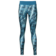 Buy Asics Graphic Running Tights, Blue Online at johnlewis.com