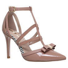 Buy Miss KG Chyna Cut Out Court Shoes, Nude Online at johnlewis.com