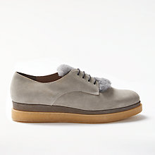 Buy Modern Rarity Farva Flatform Brogues, Grey Online at johnlewis.com