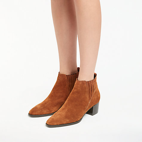 Buy John Lewis Peyton Block Heeled Ankle Chelsea Boots Online at johnlewis.com