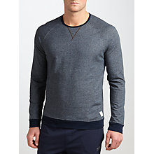 Buy Paul Smith Cotton Lounge Sweatshirt, Grey/Black Online at johnlewis.com