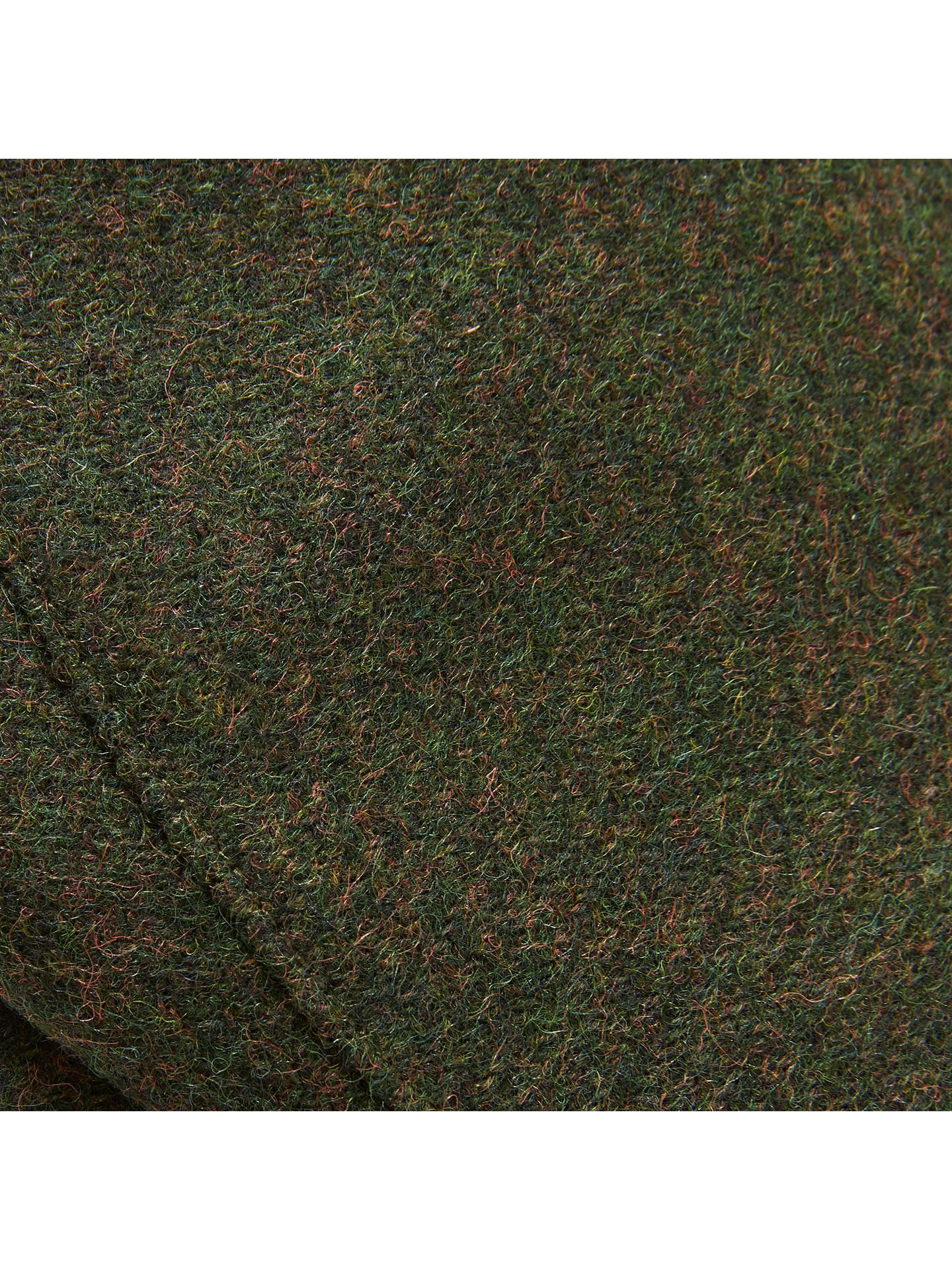 0ba50e8e8 John Lewis Moons Check Flat Cap, Green at John Lewis & Partners