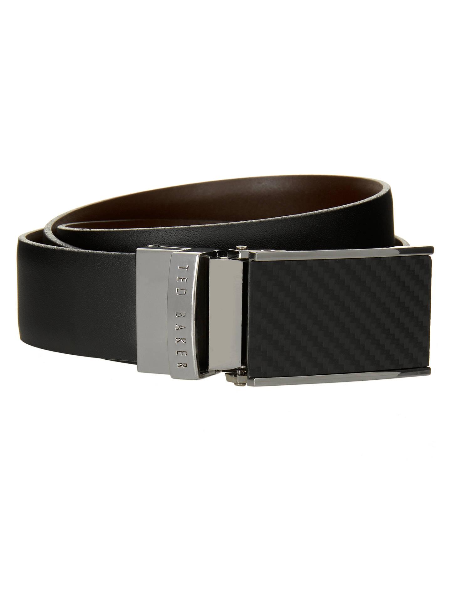 1ea57e5b657d Buy Ted Baker Twill Reversible Leather Belt