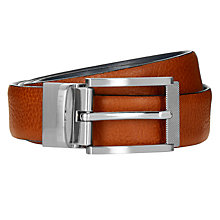 Buy Ted Baker Reva Reversible Leather Belt, Tan/Black Online at johnlewis.com